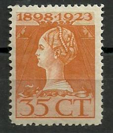 Nvph 127F (11½×11½) 35 ct Jubileum 1923 Postfris (1)