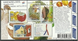 Nvph 2579 Grenzeloos Nederland Nederlandse Antillen en Aruba Postfris