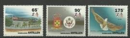 Nederlandse Antillen 1043/1045 Postfris