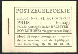 PZ 38-N 4 × 6 (Nvph 172/379/380/381) Roomkleurige Kaft (11)