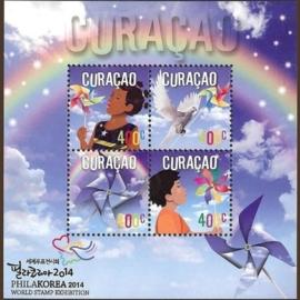 Curaçao Status Aparte 224 Phila Korea 2014 Postfris