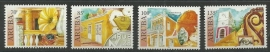 Aruba 376/379 Historisch Musea Postfris