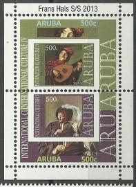 Aruba 687 Blok Frans Hals 2013 Postfris