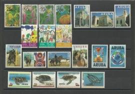 Complete Jaargang Aruba 1995 Postfris