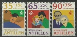 Nederlandse Antillen 1074/1076 Kinderzegels 1994 Postfris