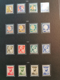 Collectie Kinderpostzegels in Importa album Postfris