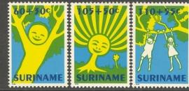 Suriname Republiek  751/753 Kinderzegels 1992 Postfris