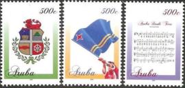 Aruba 859/861 Nationale Symbolen 2016 Postfris