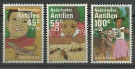 Nederlandse Antillen 750/752 Postfris