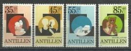 Nederlandse Antillen 695/698 Postfris