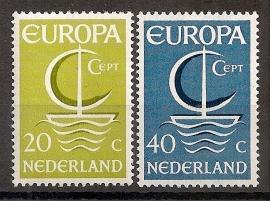 Nvph  868/869 Europa 1966 Postfris