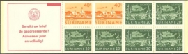 SR Postzegelboekje 3aq Postfris