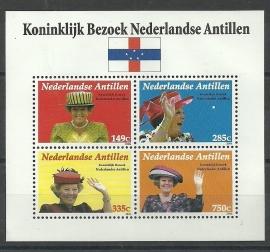Nederlandse Antillen 1700 Blok Koninklijk Bezoek 2006 Postfris