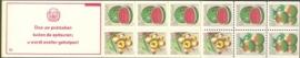 SR Postzegelboekje 6cq Postfris