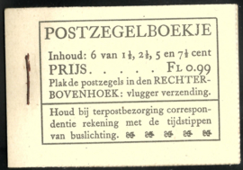 PZ 38-N 4 × 6 (Nvph 172/379/380/381) Roomkleurige Kaft ( 9)