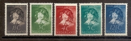 Nvph 300/304 Kinderzegels 1937 Postfris