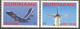 Suriname Republiek 1392/1393 UPAEP 2006 Postfris