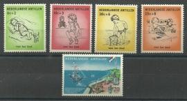Nederlandse Antillen Jaargang 1961 Postfris