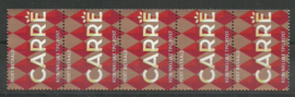 Port Betaald  15 Strip Postfris