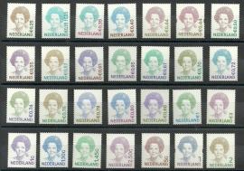 Nvph 1491/2731 Koningin Beatrix Gestanst Postfris (Zelfklevend geheel compleet)