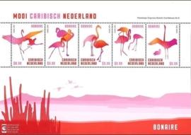 Caribisch Nederland  45 FXDC  Blok Bonaire (5 × US $ 0,99) 2014 Postfris
