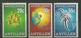 Nederlandse Antillen 548/550 Postfris