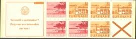 SR Postzegelboekje 4cp Postfris