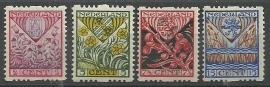 Roltanding 78/81 Kinderzegels 1927 Ongebruikt