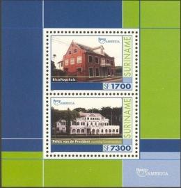Suriname Republiek 1125 Blok U.P.A.E.P. 2001 Postfris
