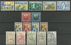 Complete jaargang 1949 Postfris