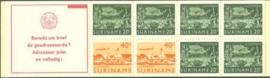 SR Postzegelboekje 3ap Postfris