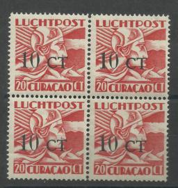 Luchtpost 17 Hulpuitgifte in blok Postfris (1)