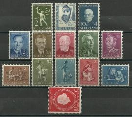 Complete jaargang 1954 Postfris