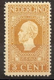 Nvph  91 3ct Jubileum 1913 Postfris