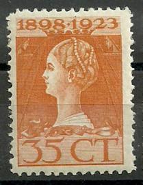 Nvph 127B (11×11½) 35 ct Jubileum 1923 Postfris (3)