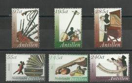 Nederlandse Antillen 1615/1620 Muziekinstrumenten Postfris