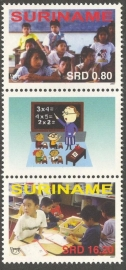 Suriname Republiek 1487/1488BP UPEAP 2007 Postfris