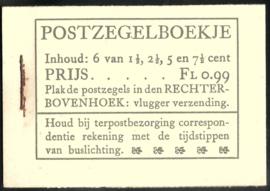 PZ 38-N 4 × 6 (Nvph 172/379/380/381) Roomkleurige Kaft (14)