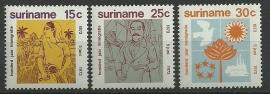 Suriname 600/602 Postfris