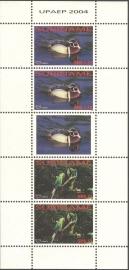 Suriname Republiek 1278/1279V UPAEP 2004 Postfris (Compleet Vel)