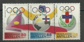 Nederlandse Antillen 1000/1002 Cultuurzegels Postfris