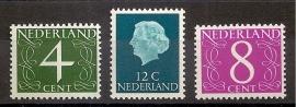Nvph  774/776 Fosforzegels Postfris
