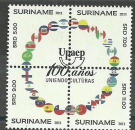 Suriname Republiek  1779/1782 UPAEP 2011 Postfris
