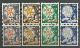 Roltanding 98/101 Kinderzegels 1933 Gebruikt in Paar