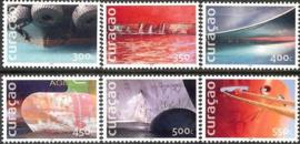 Curaçao Status Aparte 329/334 Schepen 2016 Postfris