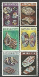 Aruba 710/715 Schelpen 2013 Postfris