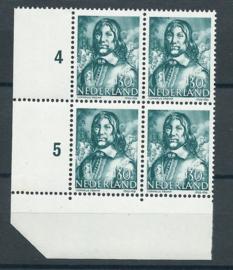 Plaatfout  420 PM6 in blok Postfris