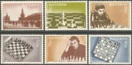 Suriname Republiek 418/423 Schaken 1984 Postfris