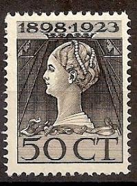 Nvph 128 50 ct Jubileum 1923 Ongebruikt