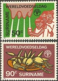 Suriname Republiek 425/426 Wereld Voedseldag 1984 Postfris